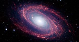 تصویر یک کهکشان مارپیچی