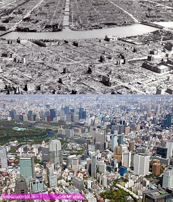 توکیو، ژاپن، پس از جنگ جهانی دوم