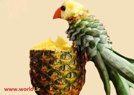 tazine ananas be shekle tooti