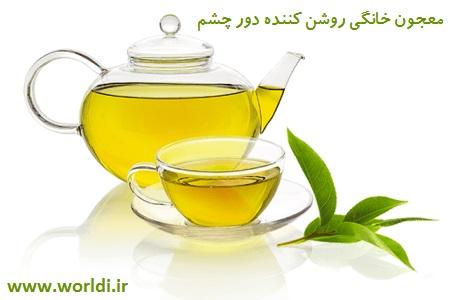 دم کرده چای سبز