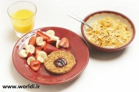 صبحانه خوب و لاغری