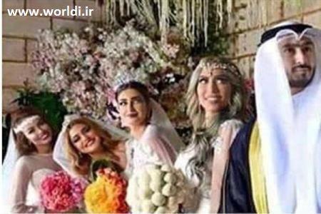 ازدواج همزمان با 4 زن برای رو کم کنی