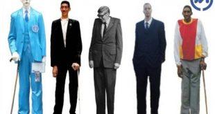 بلندقدترین مردان جهان