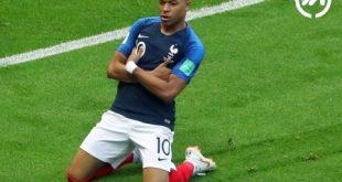 امباپه در جام جهانی 2018