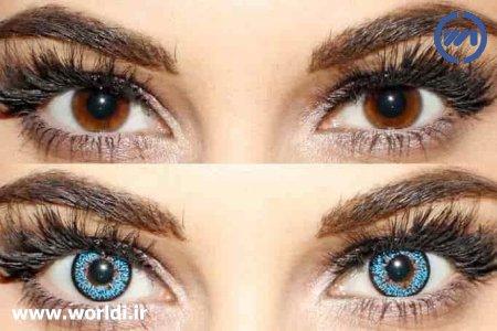 تغییر رنگ چشم با روشهای طبیعی