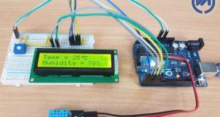 پروژه DHT11