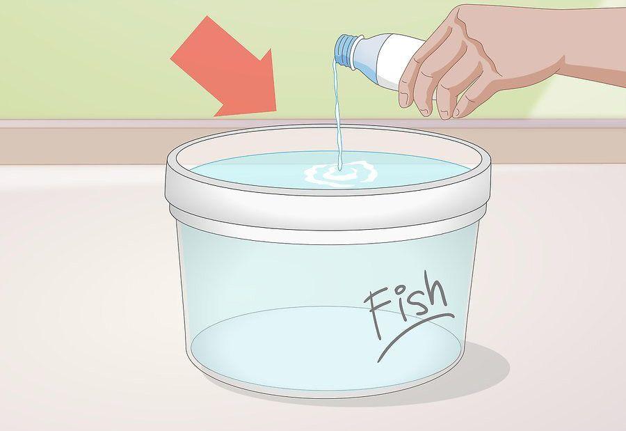 آماده کردن سطلی از آب