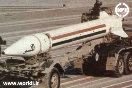 موشک اسکادB عراق که از شوروی خریده بود