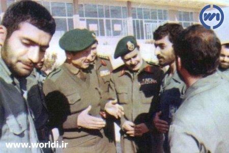شهید طهرانی مقدم و همراهانش در سوریه